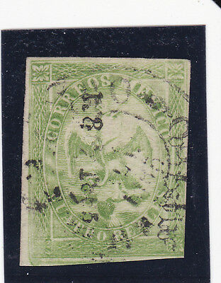 Mexico 24 Period 4 Consignment 118-1865 Only 400 Sent, Very Scarce