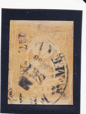 Mexico 23 Period 4 Consignment 147-1865 Only 2,100 Sent