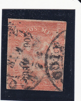 Mexico 25 Period 4 Consignment 206-1865 Only 400 sent, thin, scarce consignment