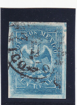 Mexico 21 Period 5 Consignment 17-1866 only 699 sent, scarce, XF