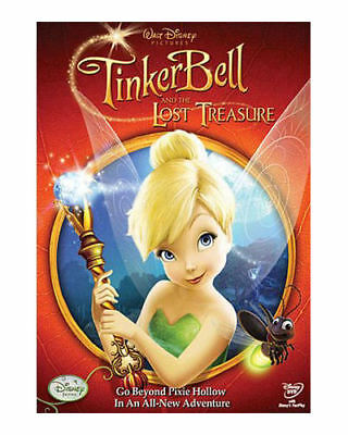 Tinker Bell And The Lost Treasure (DVD, 2009) disney movie Tinkerbell Fairies