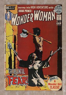 Wonder Woman (1st Series DC) #199 1972 VG/FN 5.0