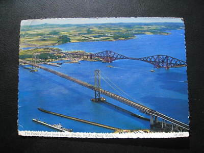 Forth Bridges From The Air - 1966