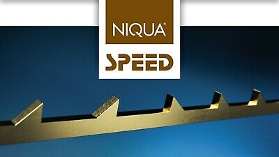 "Scroll Saw Blades NIQUA SPEED 5""/130mm ##2/0 - 14 Pack of 12 pcs Made in Germany"