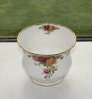 Royal Albert England Old Country Roses Planter 13cm 1st Quality