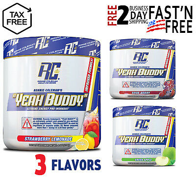 Ronnie Coleman Signature Series Yeah Buddy 30 Serve Pre-Workout Supplement 240gr
