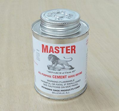 Masters All purpose quick dry Cement Leather wood 8 oz