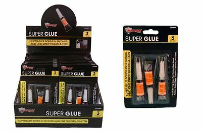 Diamond Visions Max Force 2220885 Super Glue 3 Piece Set MultiPack (6 tubes)