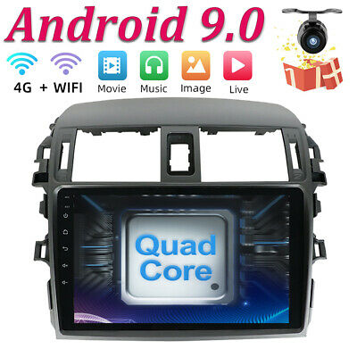 """9""""IPS Android 8.1 Car GPS Navigation for Toyota Corolla 2009 Stereo Radio"""