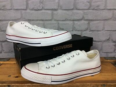 66636e8d69d68 Converse Uk 9 Eu 42.5 White All Star 70 S Low Canvas Trainers Chuck Taylor