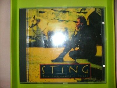 Sting Ten Summoners Tales Cd 163 2 45 Picclick Uk