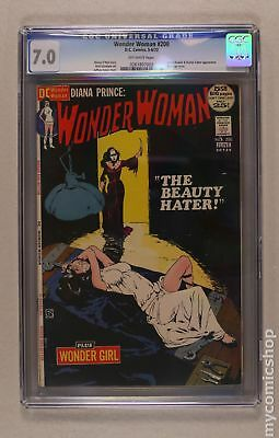 Wonder Woman (1st Series DC) #200 1972 CGC 7.0 0261807002