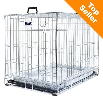 Savic Dog Residence with Cushion Rest Cage With Cushion Safe Car TRANSPORT !