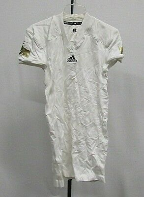 Men's TechFit Adidas Authentic Jersey W/ Gold Shoulder Screen Print Design 2X