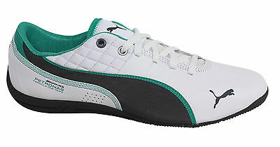 PUMA DRIFT CAT 6 MAMGP Lace Up White Synthetic Leather