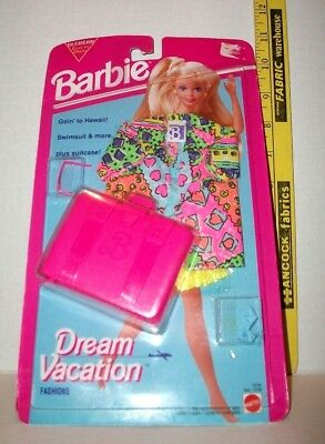 Mattel Barbie Doll 1993 Dream Vacation Fashion Outfit Clothes #10754 Nip