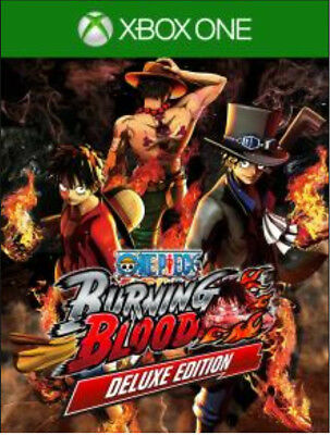 One Piece Burning Blood Deluxe Xbox One Profile ( No Code / No Cd / Read Desc )