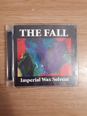 The Fall Imperial Wax Solvent CD Album As New Condition