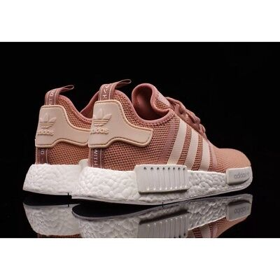 4e7b958dc49ad5 Adidas Nmd R1 Runner W Nomad Wmns Peach Pink Salmon Boost S76006 Us Size 6