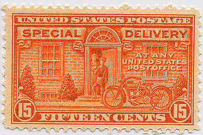 US Scott #E16 Motorcycle 15¢ Orange Special Delivery  MNH  ***FREE SHIP****