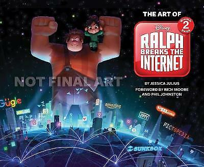 The The Art of Ralph Breaks the Internet: Wreck-It Ralph 2 - 9781452163680