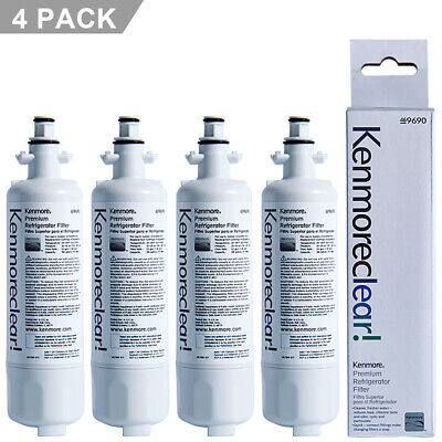 1-4PC OEM Kenmore 9690 Refrigerator Water Filter For 46-9690 469690 ADQ36006102