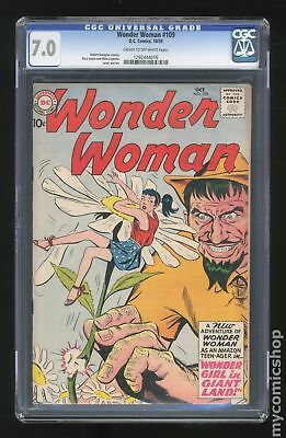 Wonder Woman (1st Series DC) #109 1959 CGC 7.0 1292444016