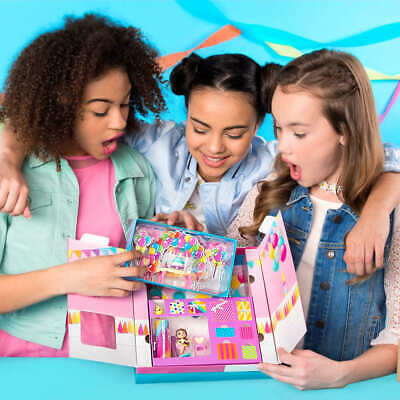Party Popteenies Party Surprise Box Playset Figurine Kids Toy Gift 6044091