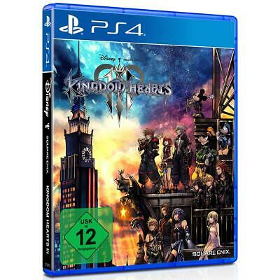 Kingdom Hearts III 3 Disney Sony PS4 Spiel Playstation 4 NEU&OVP