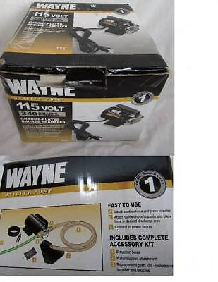 NEW WAYNE 57717-WYN1 340 gph UTILITY TRANSFER PUMP KIT