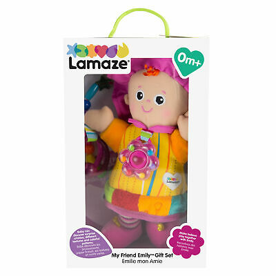 LC27871 Lamaze My Friend Emily & Beads Teether Kids Childrens Toy Baby 0+ Months