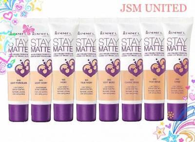 RIMMEL Stay Matte Liquid Mousse Foundation 30 ml Choose Shade
