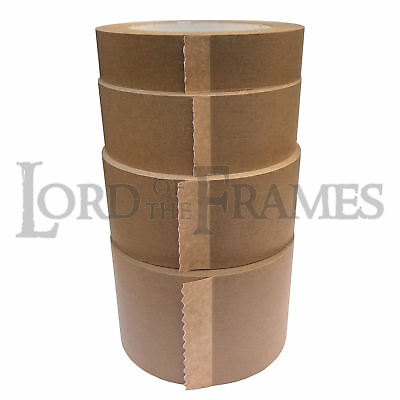 1 x 50m Roll of 25mm 38mm 50mm 75mm Eco 15 Picture Framing Backing Paper Tape