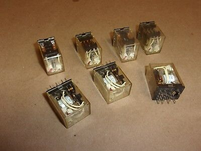 Omron Relay MY4N , lot of 7