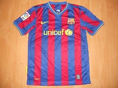 97da5d2a7 Barcelona Barca Spain 2009   2010 Football Shirt Jersey Home Nike Size  Young L