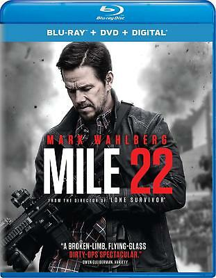 Mile 22 (Blu-ray Disc ONLY, 2018)
