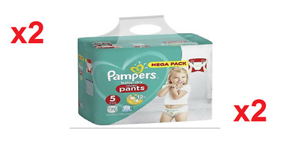 Pampers Baby Dry Pants-Couches Culottes Taille 5(12-17)Kg Lot de 144 Couches New