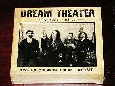 Dream Theater: The Broadcast Archives - Classic Live FM 6 CD Box Set 2019 NEW