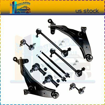 2002-2005 Sebring Stratus COUPE Eclipse Lower Control Arm Sway Bar Tie Rod Kit