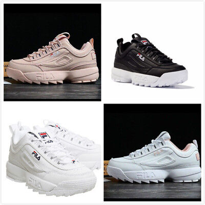 FILA Disruptor II 2  scarpe autentiche White Shoes Size 36-44 Women&Men