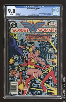 Wonder Woman (1st Series DC) #308 1983 CGC 9.8 1497130024