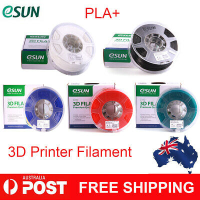 Genuine eSUN PLA+ 3D Printer Filament 1KG 1.75mm Corn Grain Refining Material
