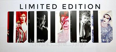 | DAVID BOWIE | *SOLD OUT* Limited Edition MTA Metro Cards FULL SET 5 Metrocards
