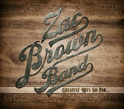 ZAC BROWN BAND Greatest Hits So Far... CD BRAND NEW Gatefold Sleeve