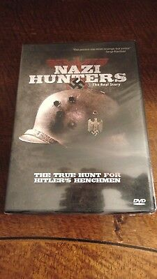 Nazi Hunters : The Real Story  DVD SET RARE brand new