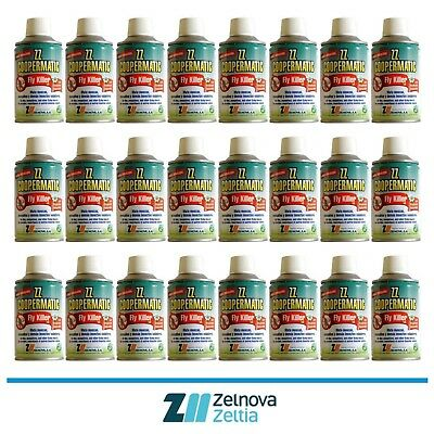 ZZ COOPERMATIC FLY KILLER LD - Insecticida / Insecticide  Promo 24 Uds X 250 ml