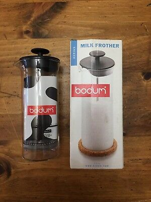 Bodum 11653-18 Chambord Classic Milk Frother Copper 5 Ounce