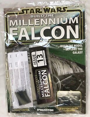 DEAGOSTINI STAR WARS BUILD THE MILLENNIUM FALCON Issue 13 - Hold Wall & Piping