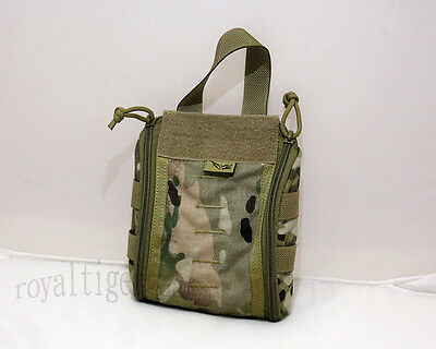 FLYYE MOLLE Tactical Trauma First Aid Kit Medic Pouch – MultiCam 1000D CORDURA