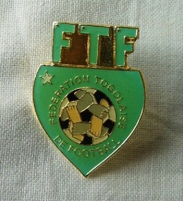 Pin button badge football Football Federation Togo for World cup Germany 2006